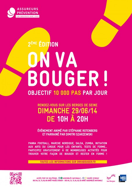 « On va bouger ! Objectif 10 000 pas ».