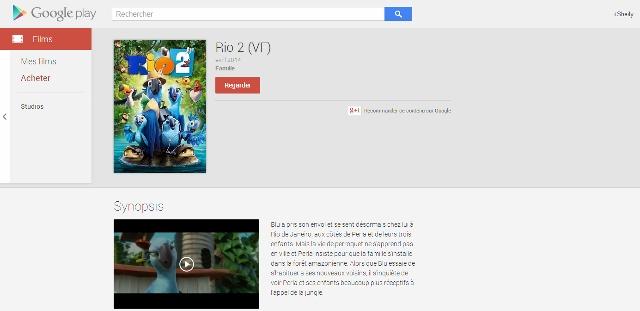Rio 2 Google Play Films