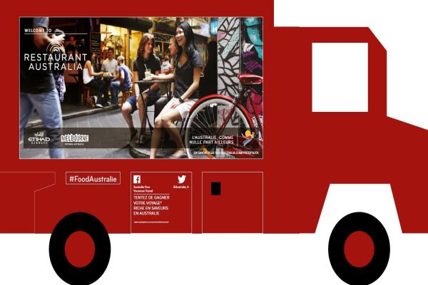 Un food truck australien à Paris