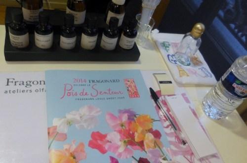 Atelier olfactif Apprenti Parfumeur Fragonard