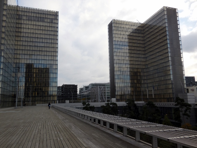 Bibliothèque nationale de France et Passerelle Simone de Beauvoir