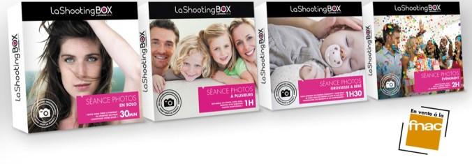 Coffrets cadeaux LaShootingBOX
