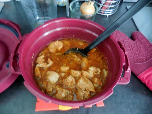 Micro minute tupperware recette de poulet aux oignons et paprika - Micro minute tupperware recette ...
