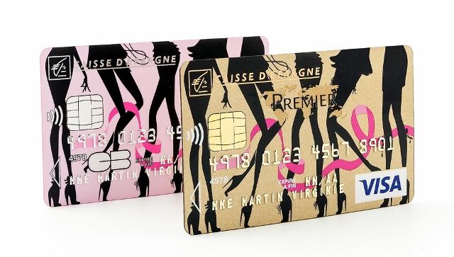 Cartes bancaires Chantal Thomass Caisse d'Epargne