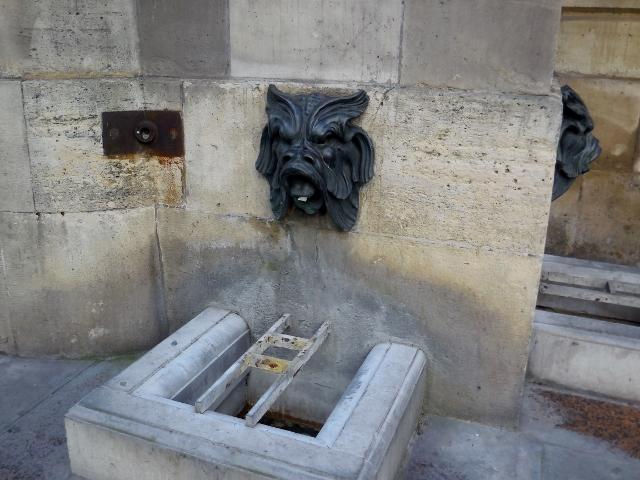 La Fontaine des Quatre-Saisons