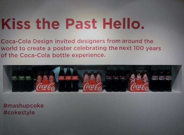 La bouteille Contour Coca-Cola a 100 ans