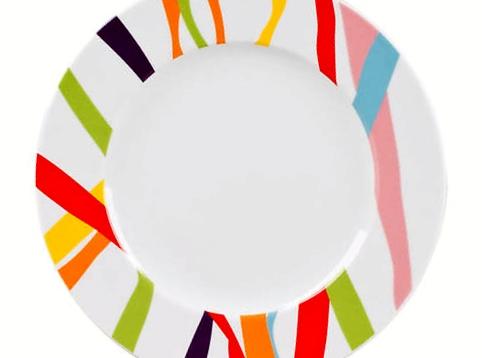 Assiettes, multicolore