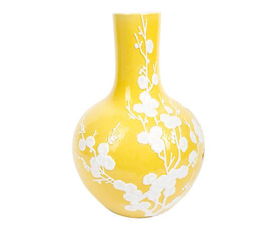 Vase cerisier en porcelaine