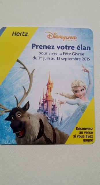 Hertz et Disneyland Paris