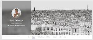Paris sur mes réseaux sociaux