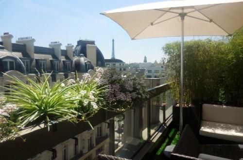 Terrasse d'été du Warwick Champs-Elysées