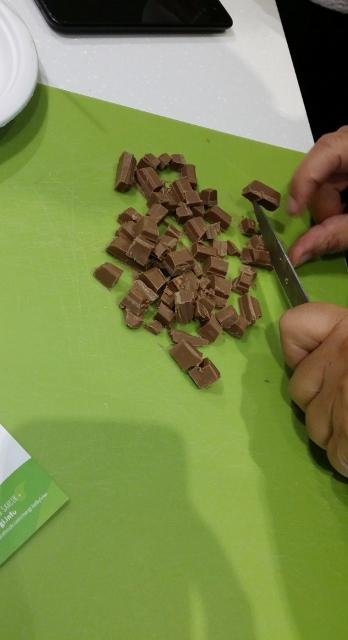 Mini cheesecake chocolat et baby kiwi NERGI