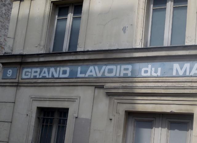 Grand Lavoir du marché Lenoir