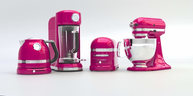 KitchenAid arbore à nouveau le ruban rose