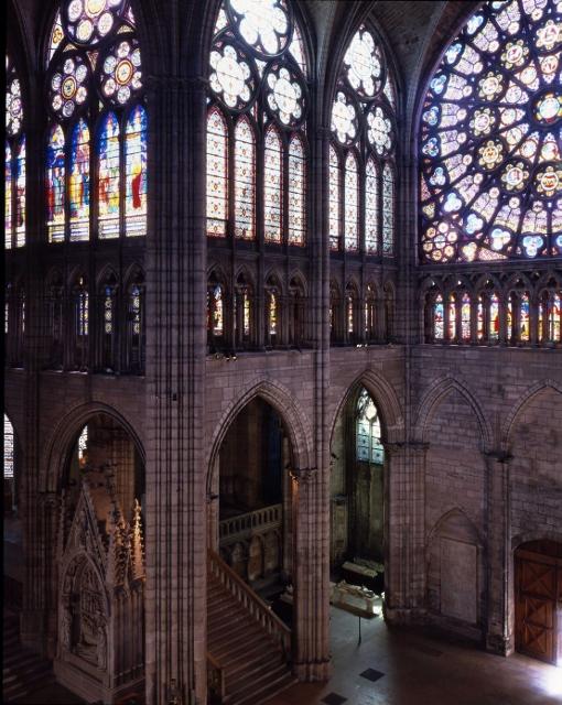 Monuments Jeu d'enfant Basilique cathédrale de Saint-Denis - Photo : Caroline Rose