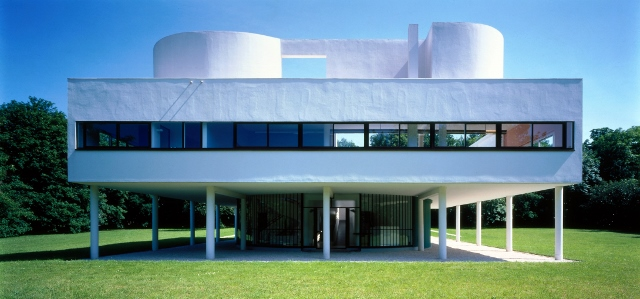 Villa Savoye à Poissy - Photo : Jean-Christophe Ballot