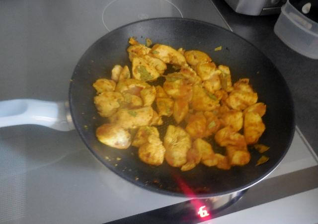 Recette de Poulet au curry express