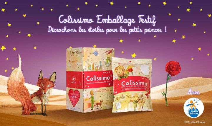 Colissimo emballages festifs Petits Princes