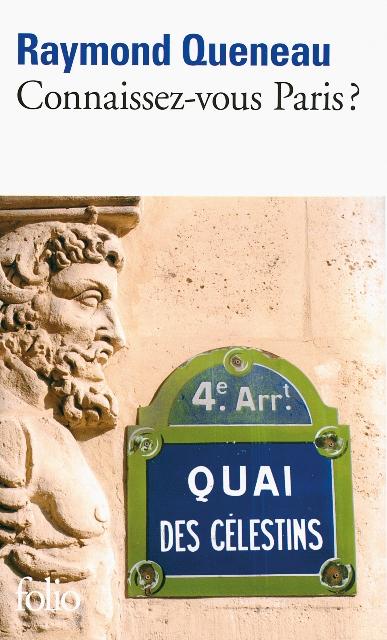Connaissez-vous Paris Raymond Queneau
