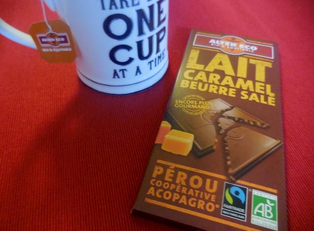 Alter Eco Chocolat Lait Caramel Beurre salé