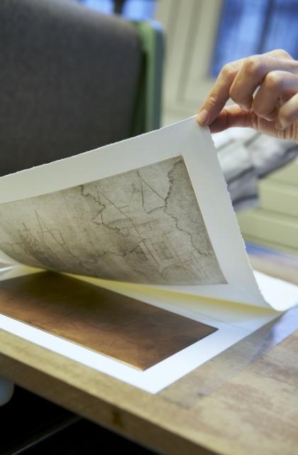 Musée Carnavalet atelier gravure ©CRequillart