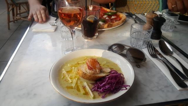Manger à Saint Ouen