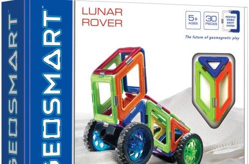 Jeu de construction magnétique Géosmart Lunar Rover 30 pièces