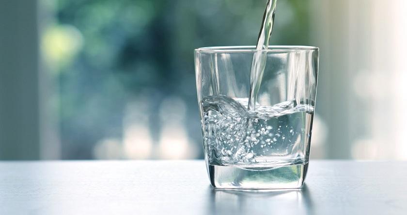 просто стакан с водой