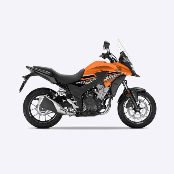 image CB500X 2017 orange Honda Paris Nord moto