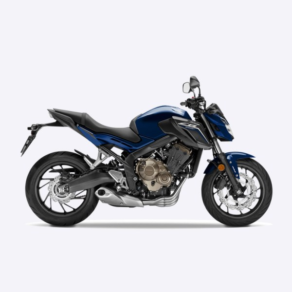 image CB650F 2017 bleu honda Paris Nord Moto