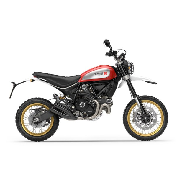 image 02 galerie Scrambler Desert Sled Paris Nord Moto