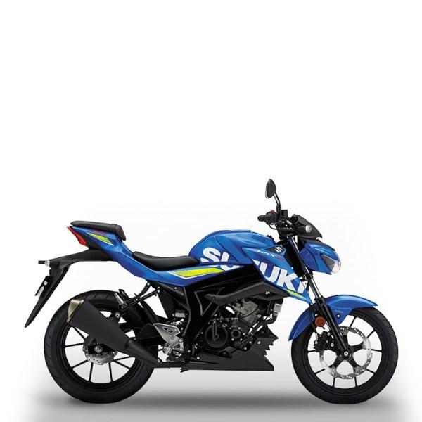 image GSX-S125 bleu Suzuki Paris Nord moto