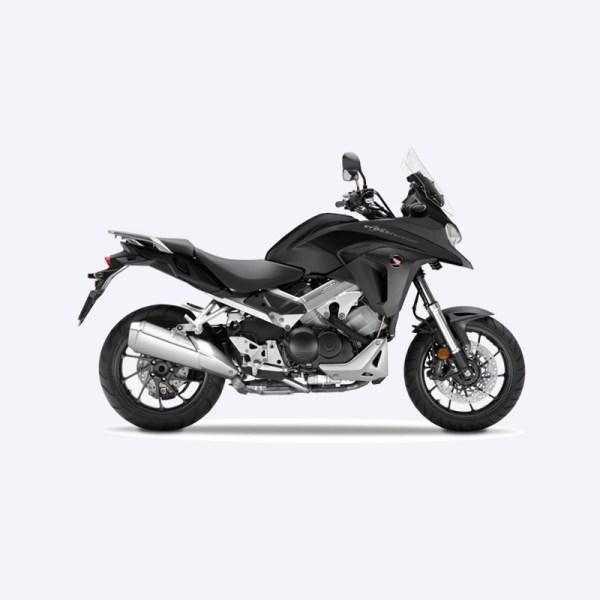 image VFR800X Crossrunner noir mat Paris Nord moto