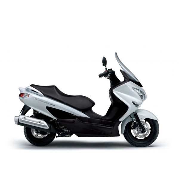 Burgman 200 abs blanc Suzuki Paris Nord Moto