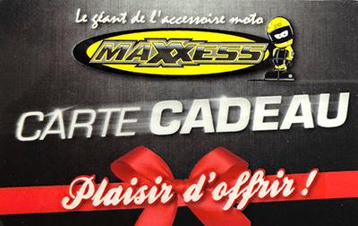 Cartee cadeau Maxxess Paris Nord Moto