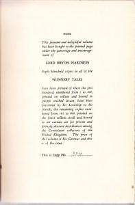 Nunnery Tales 1902 Limitation Page