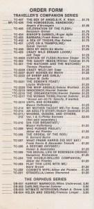 Olympia Press N.Y. 68-69               Order Form