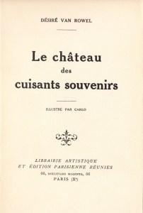 Le Château des cuisants souvenirs