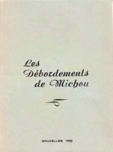 Les Debordments de Michou Bruxelles 1956 Flores_0001