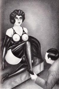 L'Infirnale Dominatrice Le Jardin D'Eros 1935_0014