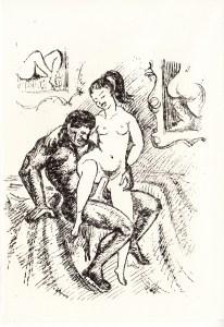 Les Audaces  amoureuses de Melle de B.. Losfeld_0004