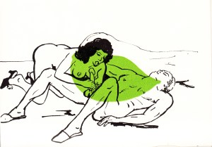 Les Audaces  amoureuses de Melle de B.. Losfeld_0007