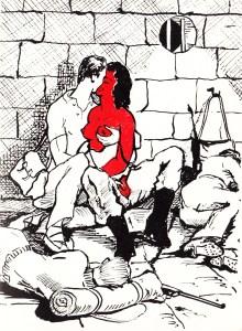 Les Audaces  amoureuses de Melle de B.. Losfeld_0011