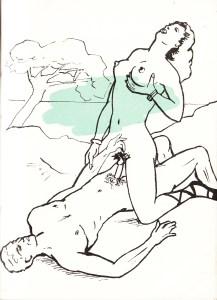 Les Audaces  amoureuses de Melle de B.. Losfeld_0014
