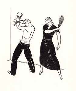 The Strap Returns Gargoyle Press 1934_0009