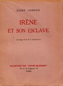 Irene et son Esclave Orties Blanches Davanzo 1933_0001