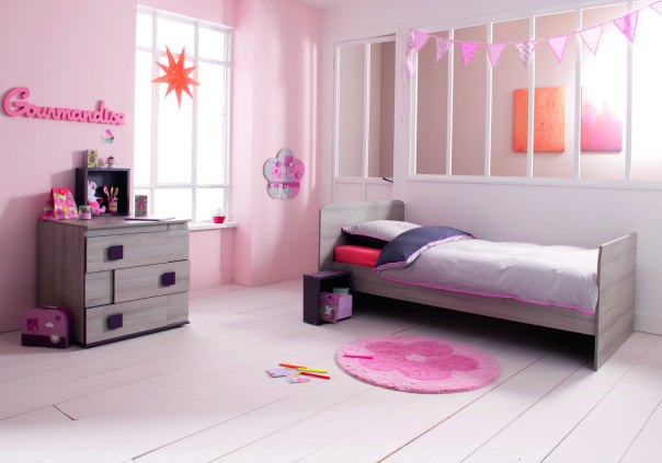 une nouvelle chambre girly pour mes filles sponso. Black Bedroom Furniture Sets. Home Design Ideas