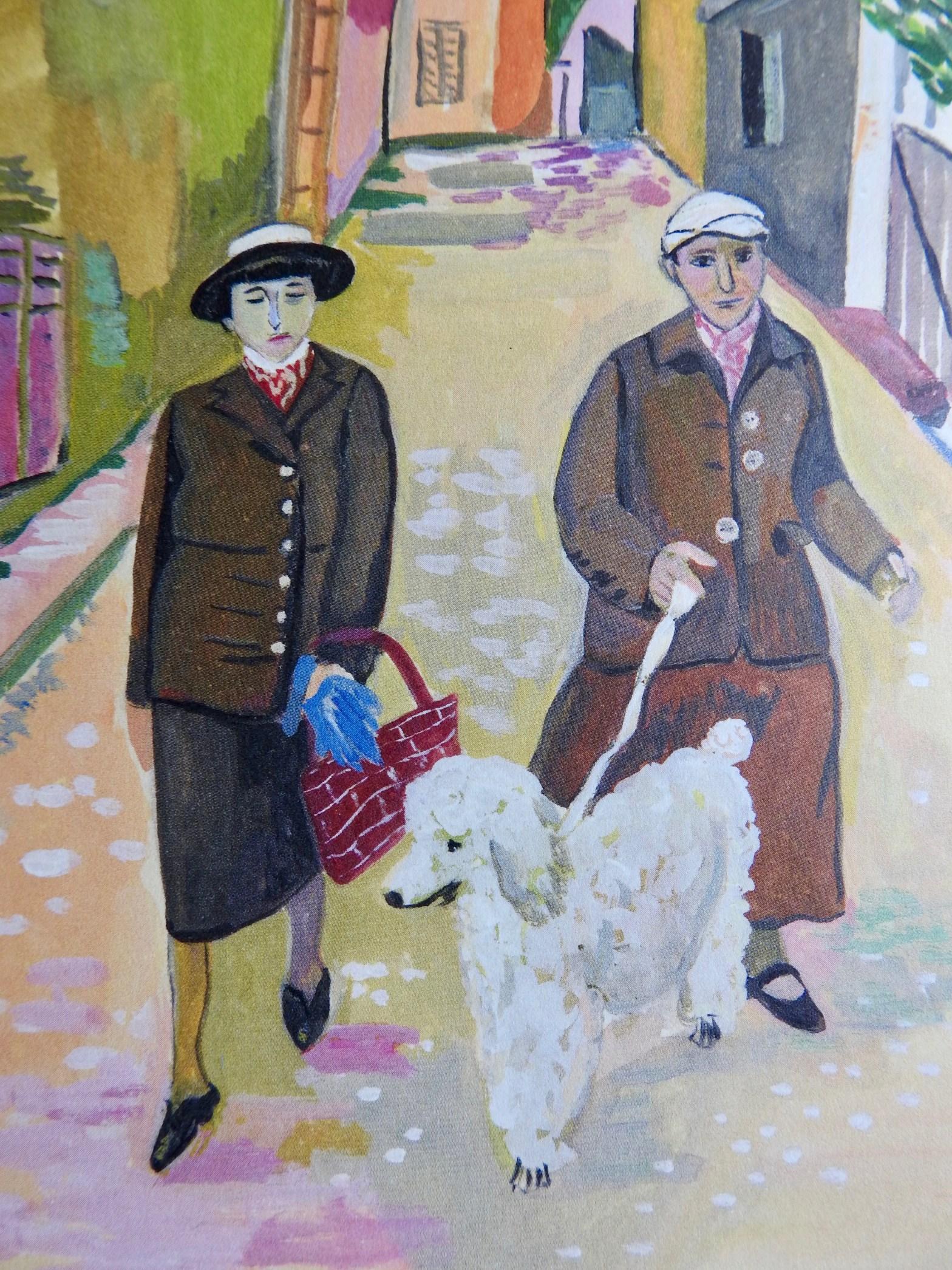 Gertrude Stein and Alice B. Toklas in Paris – just around the corner – The  Paris Residences of James Joyce