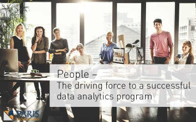 People – The driving force to a successful data analytics program