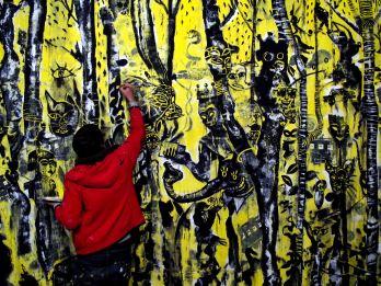 fasim ephemeral mural